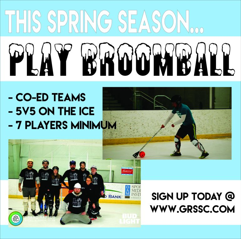 Spring Broomball